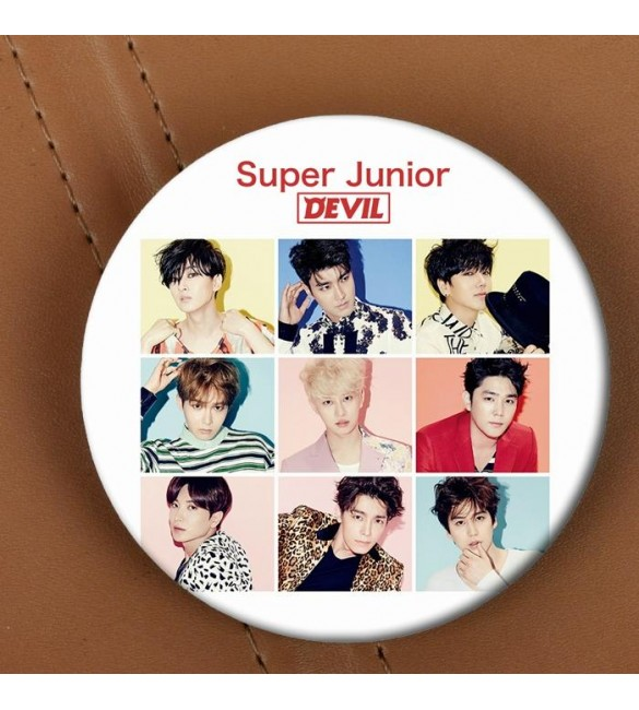 Значок Super Junior: Devil