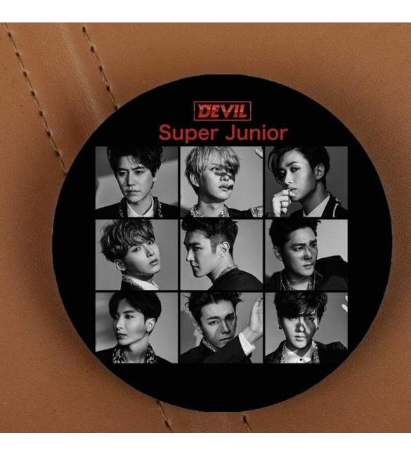 Значок Super Junior: Black Devil