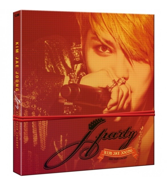 Kim Jae Joong J Party Asia tour Concert DVD