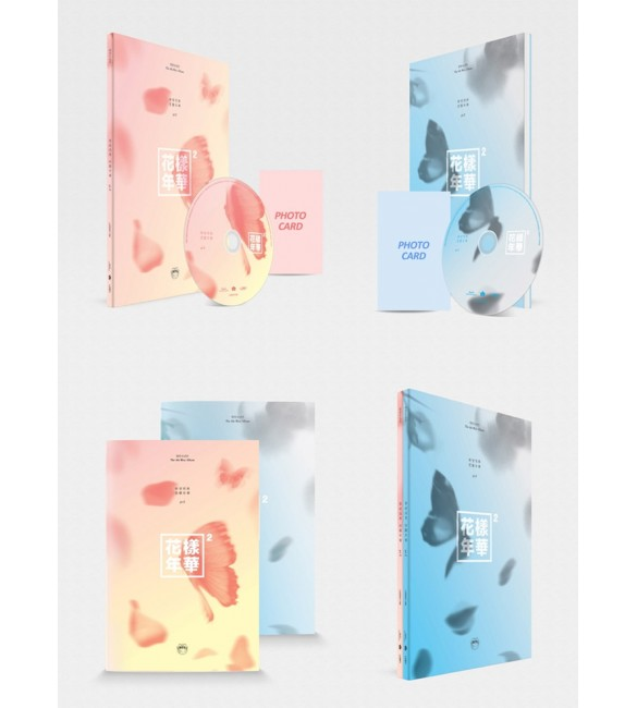 BTS Mini Album Vol. 3 - Blue ver. and Peach ver.