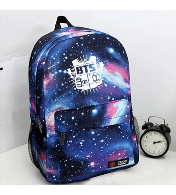 Рюкзак BTS Galaxy Navy