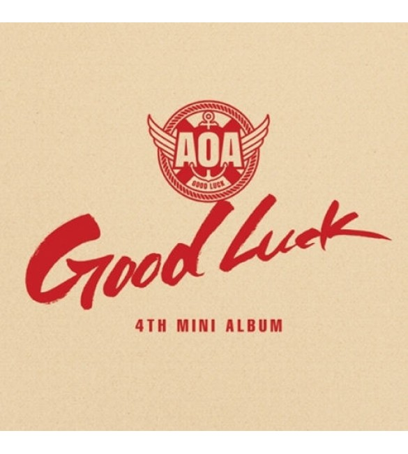 AOA 4th Mini Album - GOOD LUCK [A Version-Week]