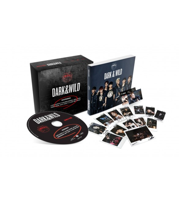 BTS 1st Album DARK & WILD