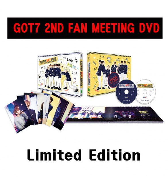 AMAZING GOT7 WORLD GOT7 I GOT7 2ND FAN MEETING