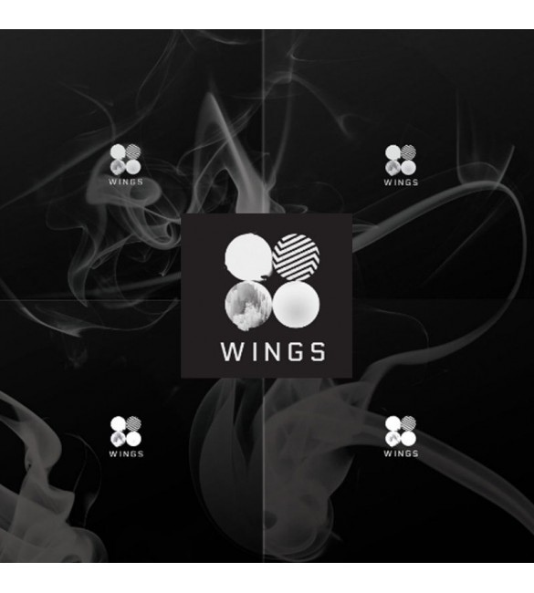 BTS-WINGS 2nd Album Random Ver.