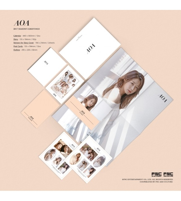 AOA 2017 SEASON'S GREETINGS