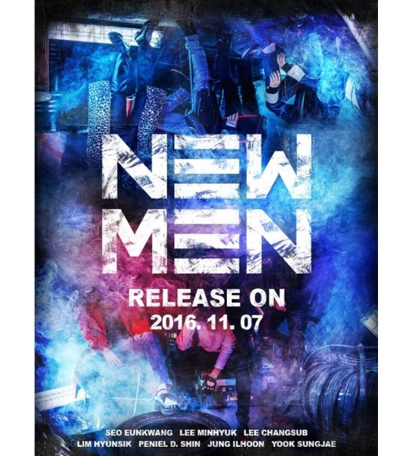 BTOB 9th Mini Album NEW MEN