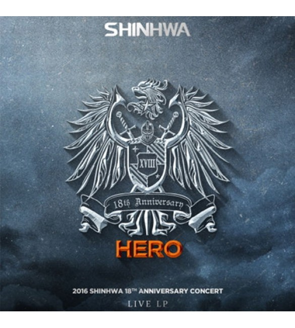 2016 SHINHWA 18TH ANNIVERSARY CONCERT HERO LIVE LP