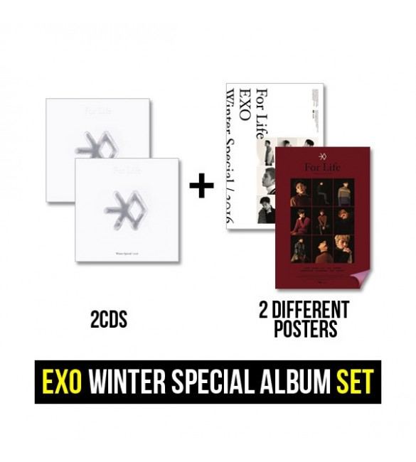 EXO - WINTER SPECIAL ALBUM, 2016 (2CD в комплекте)