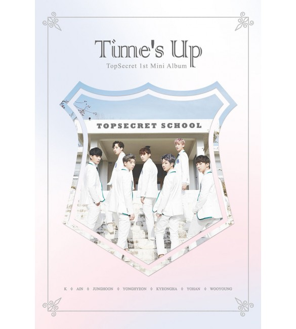 Topsecret-Time 's Up 1st Mini Album