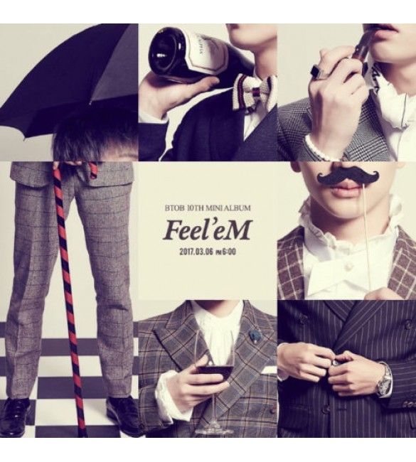 BTOB 10th Mini Album - Feel'eM