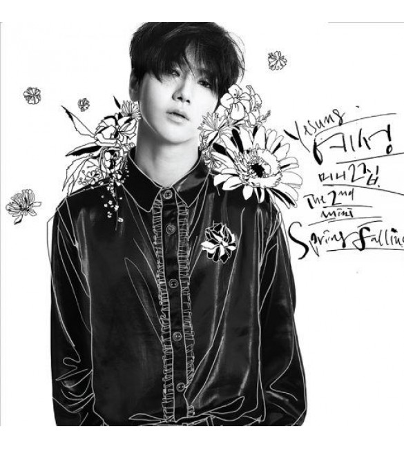 SUPER JUNIOR YESUNG 2ND MINI ALBUM - SPRING FALLING