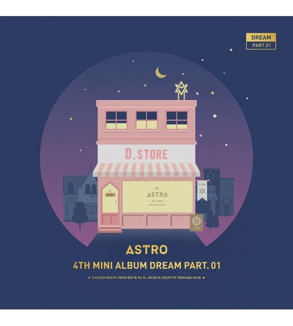 ASTRO 4TH MINI ALBUM - DREAM PART.01 (VER. NIGHT