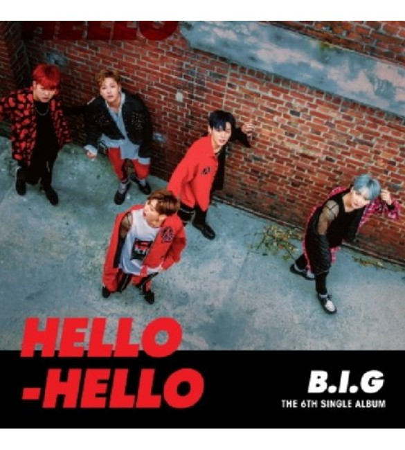 B.I.G 6TH SINGLE ALBUM - HELLO HELLO