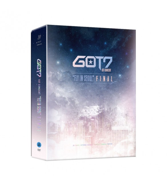 "GOT7 - 1ST CONCERT ""FLY IN SEOUL"" FINAL DVD"