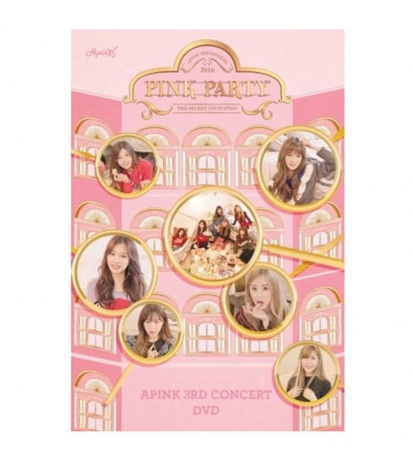 APINK 3RD CONCERT DVD - PINK PARTY