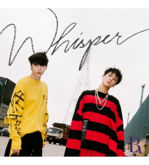 VIXX LR 2ND MINI ALBUM - WHISPER
