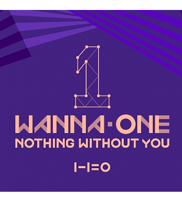WANNA ONE 1ST MINI ALBUM PREQUEL REPACKAGE - TO BE ONE [NOTHING WITHOUT YOU]