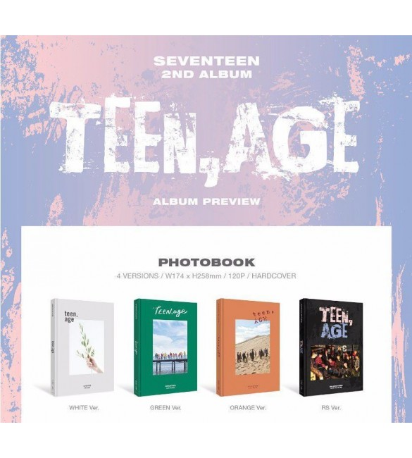 SEVENTEEN 2ND ALBUM - TEEN,AGE