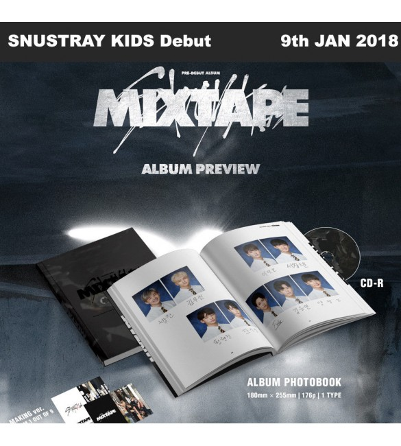 STRAY KIDS DEBUT ALBUM - MIXTAPE