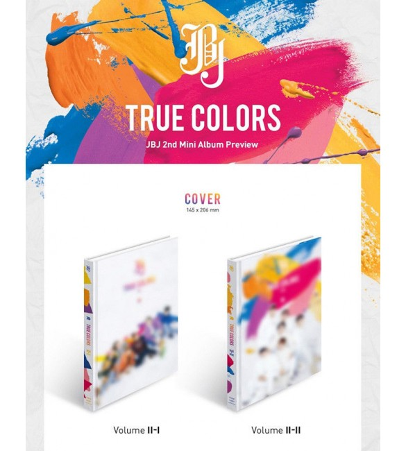 JBJ 2ND MINI ALBUM - TRUE COLORS