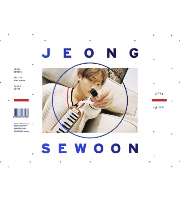 JEONG SEWOON 1ST MINI ALBUM PART.2 - AFTER (GLOW VERSION)