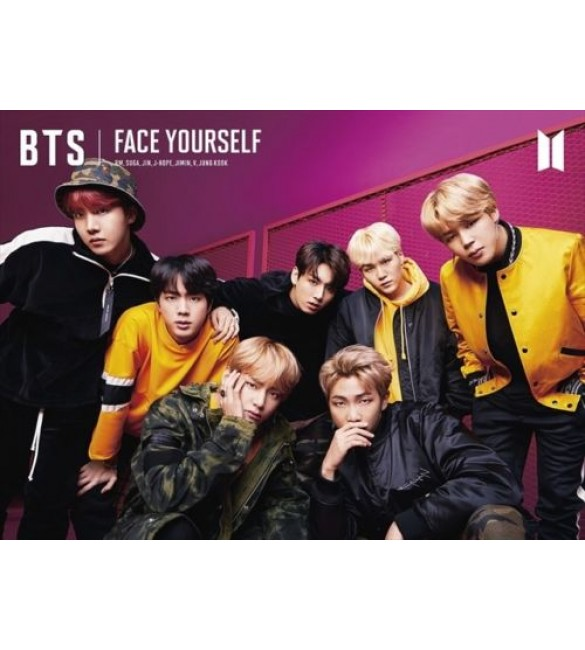 JAPANESE LIMITED EDITION BTS - FACE YOURSELF VER.B