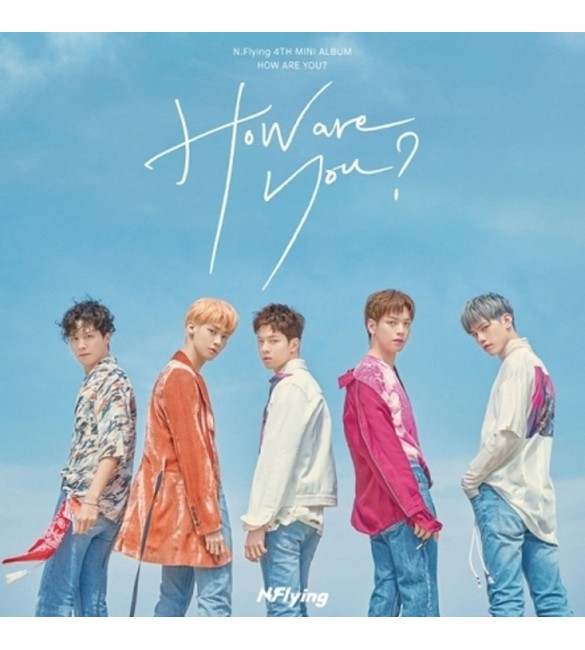 Альбом N.FLYING 4TH MINI ALBUM - HOW ARE YOU?