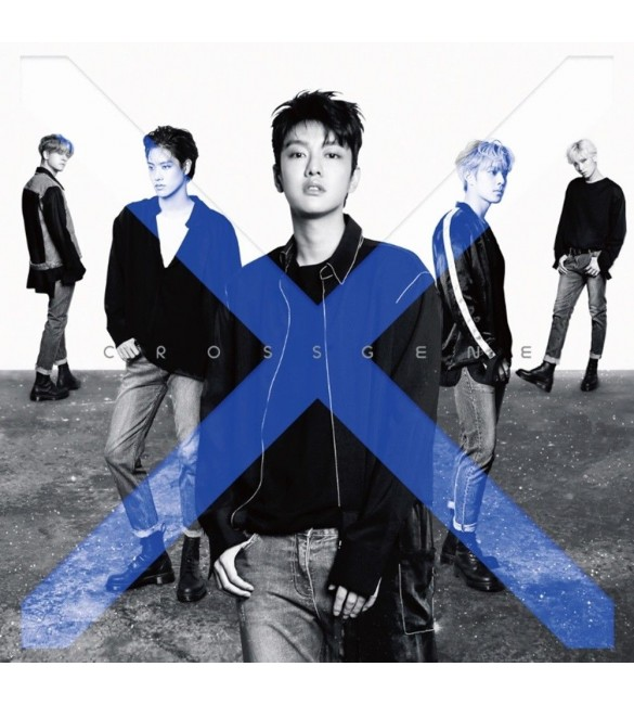 Альбом CROSS GENE 5TH MINI ALBUM - ZERO (A VER)