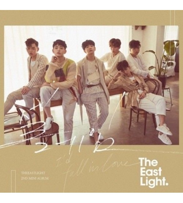 Альбом THE EASTLIGHT 2ND MINI ALBUM - 설레임