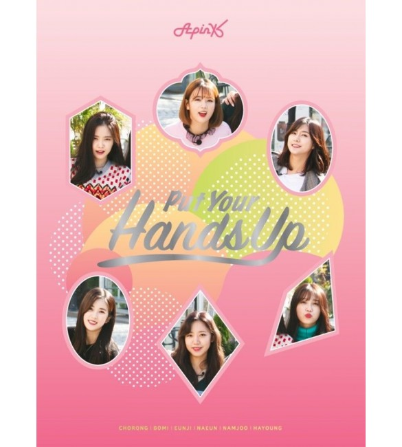 Альбом APINK - PUT YOUR HANDS UP DVD