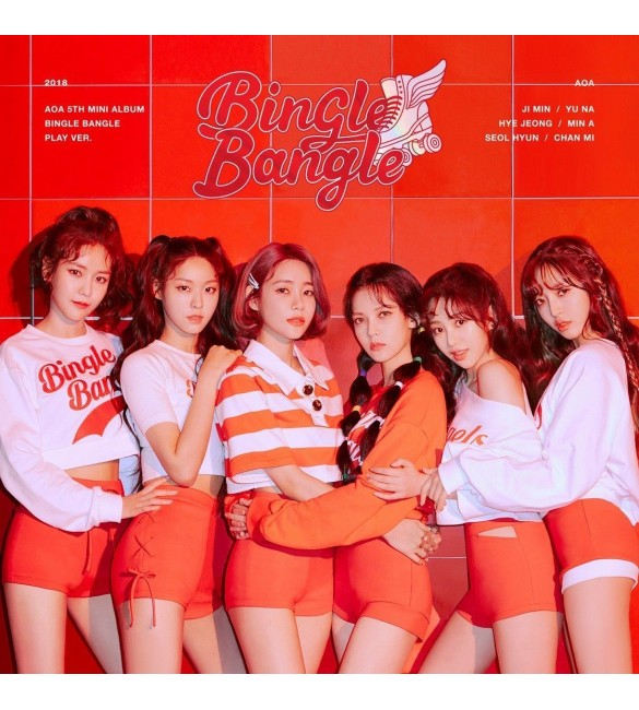 Альбом AOA 5TH MINI ALBUM - BINGLE BANGLE (PLAY VER.)