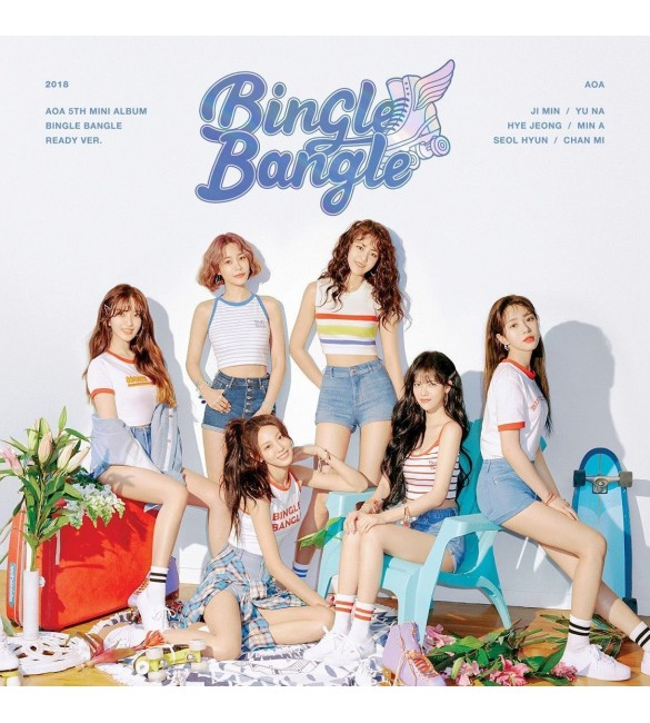 Альбом AOA 5TH MINI ALBUM - BINGLE BANGLE (READY VER.)