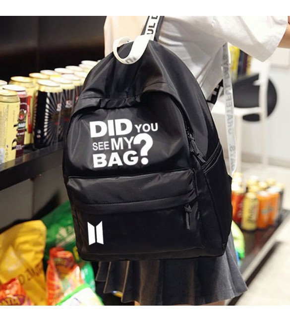 Рюкзак BTS Did You See My Bag