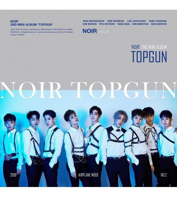 Альбом NOIR 2nd Mini Album - TOPGUN
