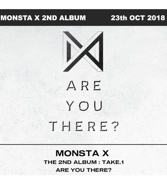 Альбом MONSTA X 2nd Album - TAKE.1 ARE YOU THERE? (Random Ver)