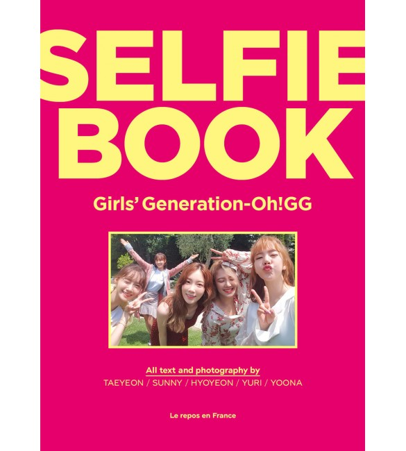 Girls Generation OH!GG Selfie Book