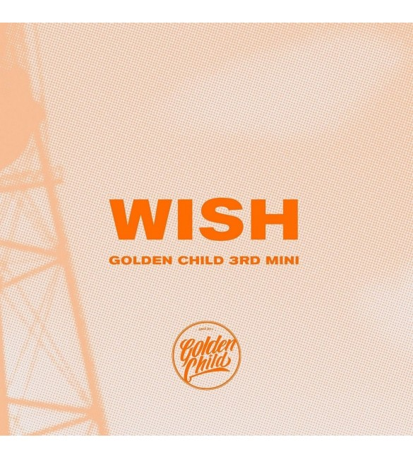 Альбом Golden Child 3rd Mini Album - Wish (B ver.)