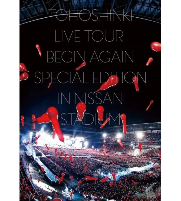 Альбом TVXQ LIVE TOUR ~Begin Again Special Edition in NISSAN STADIUM