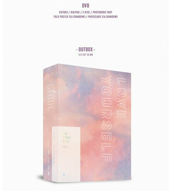 Альбом BTS LOVE YOURSELF SEOUL DVD