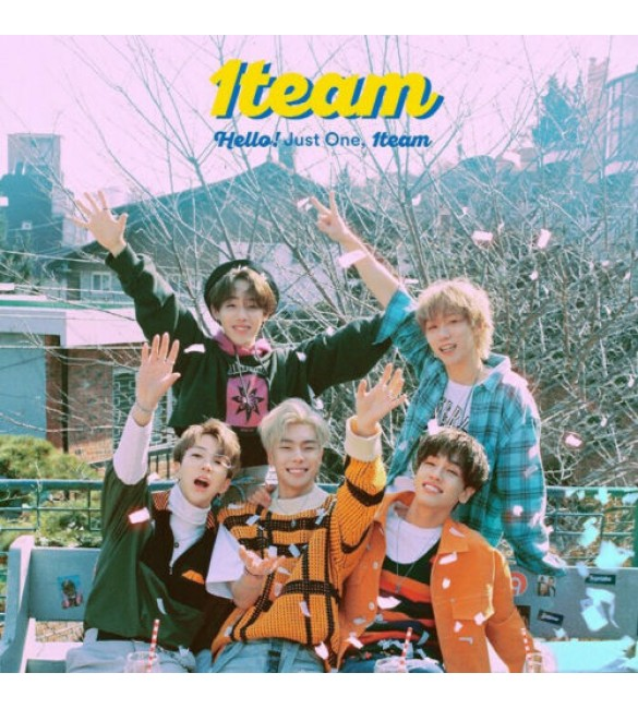 Альбом 1TEAM 1st Mini Album - HELLO!