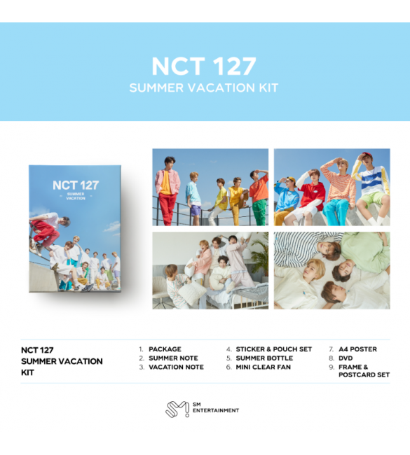 Альбом 2019 NCT 127 SUMMER VACATION KIT