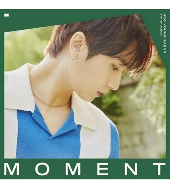 Heo Young Saeng 4th Mini Album - MOMENT