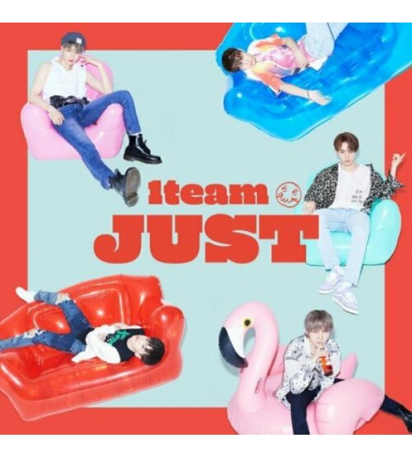 1TEAM 2nd Mini Album - JUST