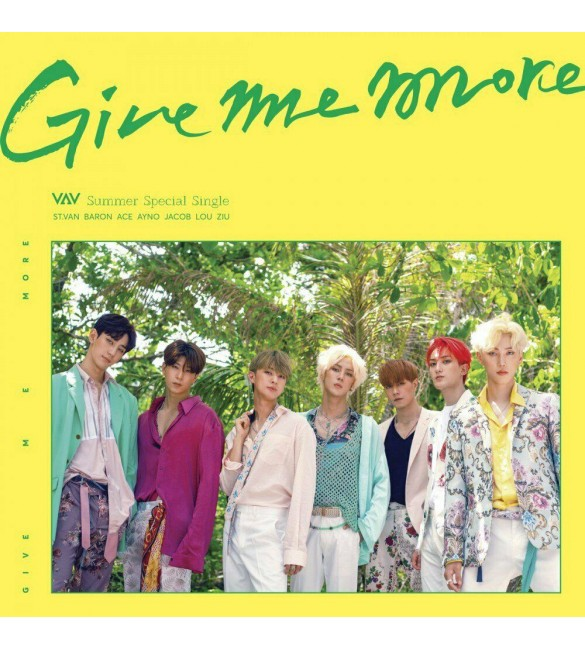 VAV Summer Special Single Album - GIVE ME MORE