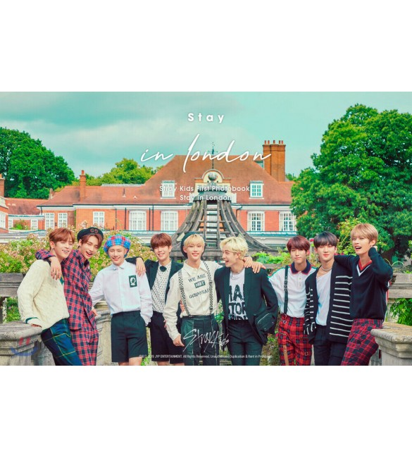 K-POP Альбом Stray kids First Photobook Stay in London