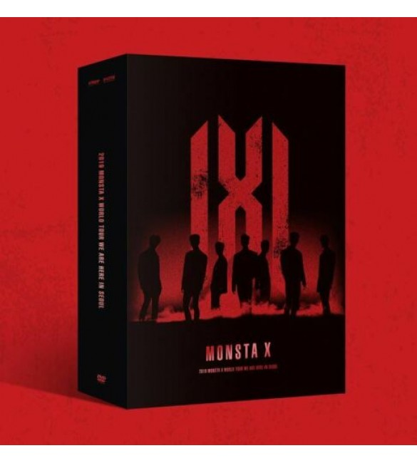 K-POP Альбом MONSTA X 2019 World Tour - WE ARE HERE in SEOUL