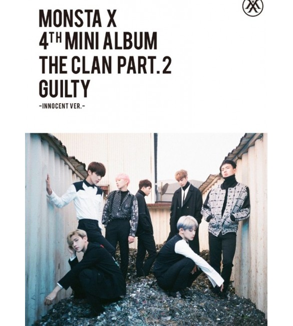 Альбом MONSTA X 4th Mini Album - THE CLAN 2.5 PART.2 GUILTY